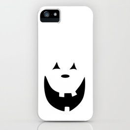 Happy Jack O'Lantern Face iPhone Case