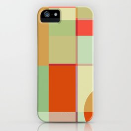 Sunset Quilt iPhone Case