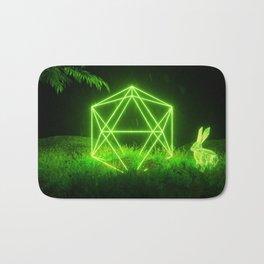 Icosahedron Hare Bath Mat
