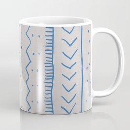Moroccan Stripe in Cobalt Coffee Mug