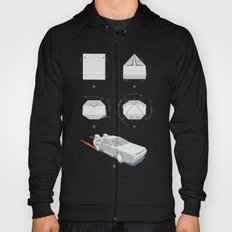 Origami DeLorean Hoody