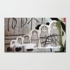 Matryoshka Canvas Print