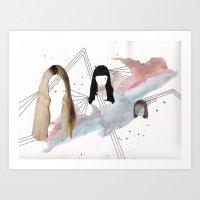 Girl Time No. 10 Art Print