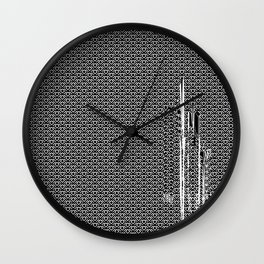 Owl Cave interference Wall Clock