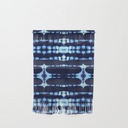 Tie-Dye Boho Knit Wall Hanging