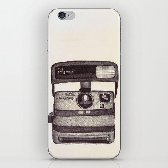 Ballpoint Palaroid Camera iPhone Skin