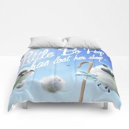 Little Bo Peep - Nursery Rhyme Inspired Art Comforters