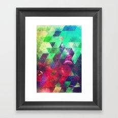 gylyxxtyx fryymwrrk Framed Art Print