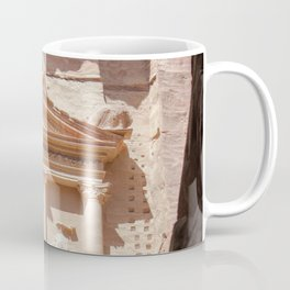 Ancient Ruins of Petra Middle Eastern Desert Boho Style Coffee Mug