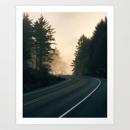 PNW Sunset Art Print