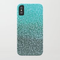 teal iPhone & iPod Cases featuring TEAL  by Monika Strigel