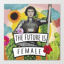 Future is Female Canvas Print