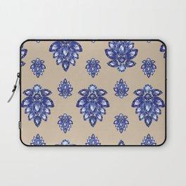 Jewelbox: Sapphire Brooch on Sand Laptop Sleeve