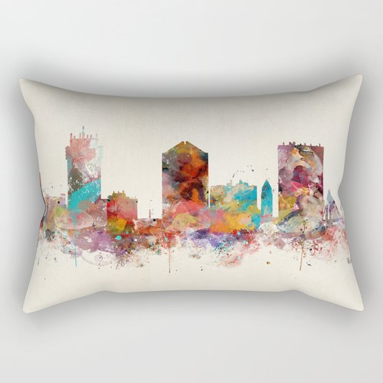 wichita kansas  Rectangular Pillow