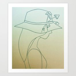 keep em wild Art Print