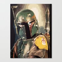 boba Canvas Prints featuring Boba  by Iris Chadab