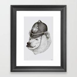 Bearly Legal Framed Art Print