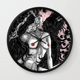 Garden Of Gazillion Delights Wall Clock