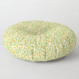 Sunflower Ranks Floor Pillow