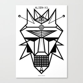 ALIEN-X1 Canvas Print