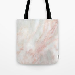 Softest blush pink marble Tote Bag