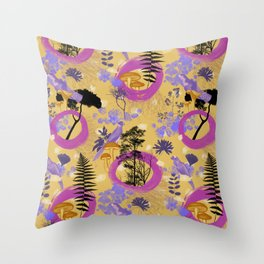 i put a spell on you Throw Pillow