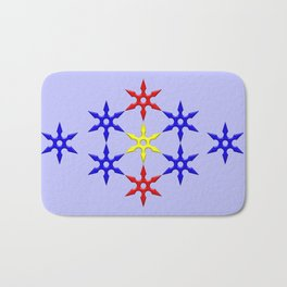 Shuriken Design Bath Mat