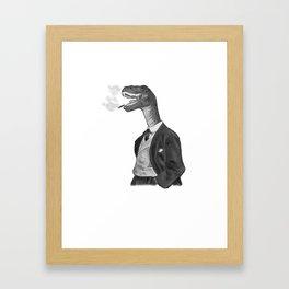 Velocichaptor Framed Art Print