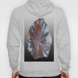 Cady Mountain Aragonite Pseudomorph (Sagenite) Hoody