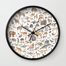 Animal Kingdom Wall Clock