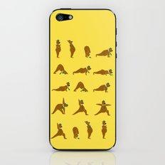Yoga Bear - Classic iPhone & iPod Skin