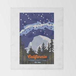 Yosemite. Throw Blanket
