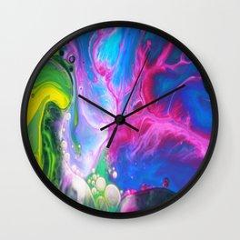 Oil-y Wall Clock