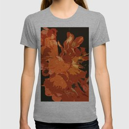 Orange Bush Lily T-shirt