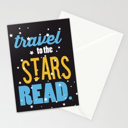 Stars - Just Read Stationery Cards