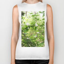 Blooming Apple Tree Biker Tank