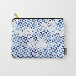 Small geometric abstract mosaic pattern Carry-All Pouch