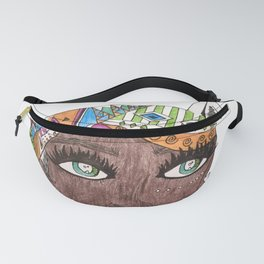 The Black Panther is Female Fanny Pack