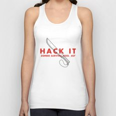 Hack it - Zombie Survival Tools Unisex Tank Top