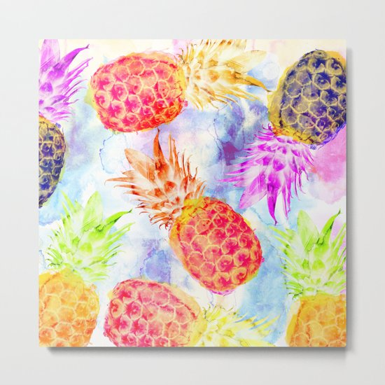 Pineapple's Rhapsody Metal Print