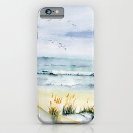 Beach is Calling iPhone Case