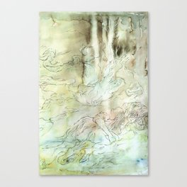 Seek (part three of three) Canvas Print