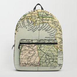 Vintage Map of the South Of The United States Of America Backpack