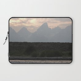 Grand Tetons by the Snake River Laptop Sleeve