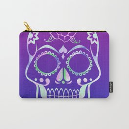 Love Skull (violette gradient) Carry-All Pouch