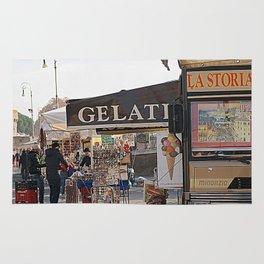 Italy 's street Rug