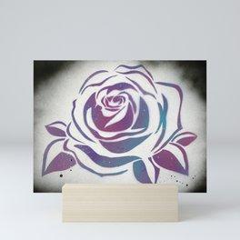 Galaxy Rose Mini Art Print