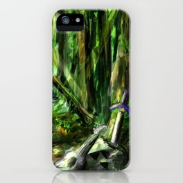 The Great Gaming Forest iPhone Case