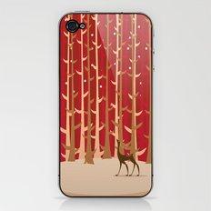 Christmas Reindeer. 1 iPhone & iPod Skin