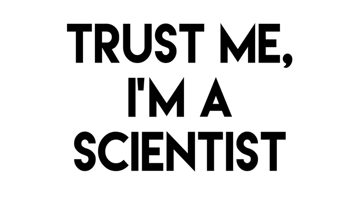 Trust me I'm a scientist Pillow Sham